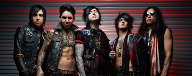 Escape The Fate - Photo by David Jackson